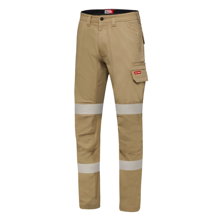 Reflective Stretch Canvas cargo Pant NAVY